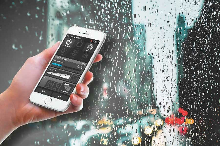 Control your heat pump from your smartphone