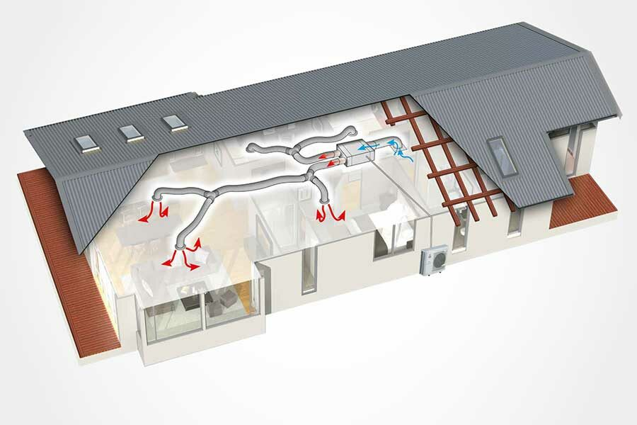 Ducted Heat Pump systems